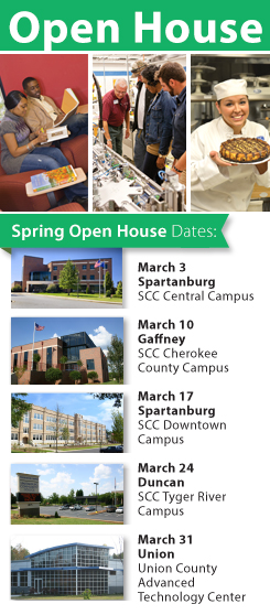 Open House multiple dates March 2015 graphic